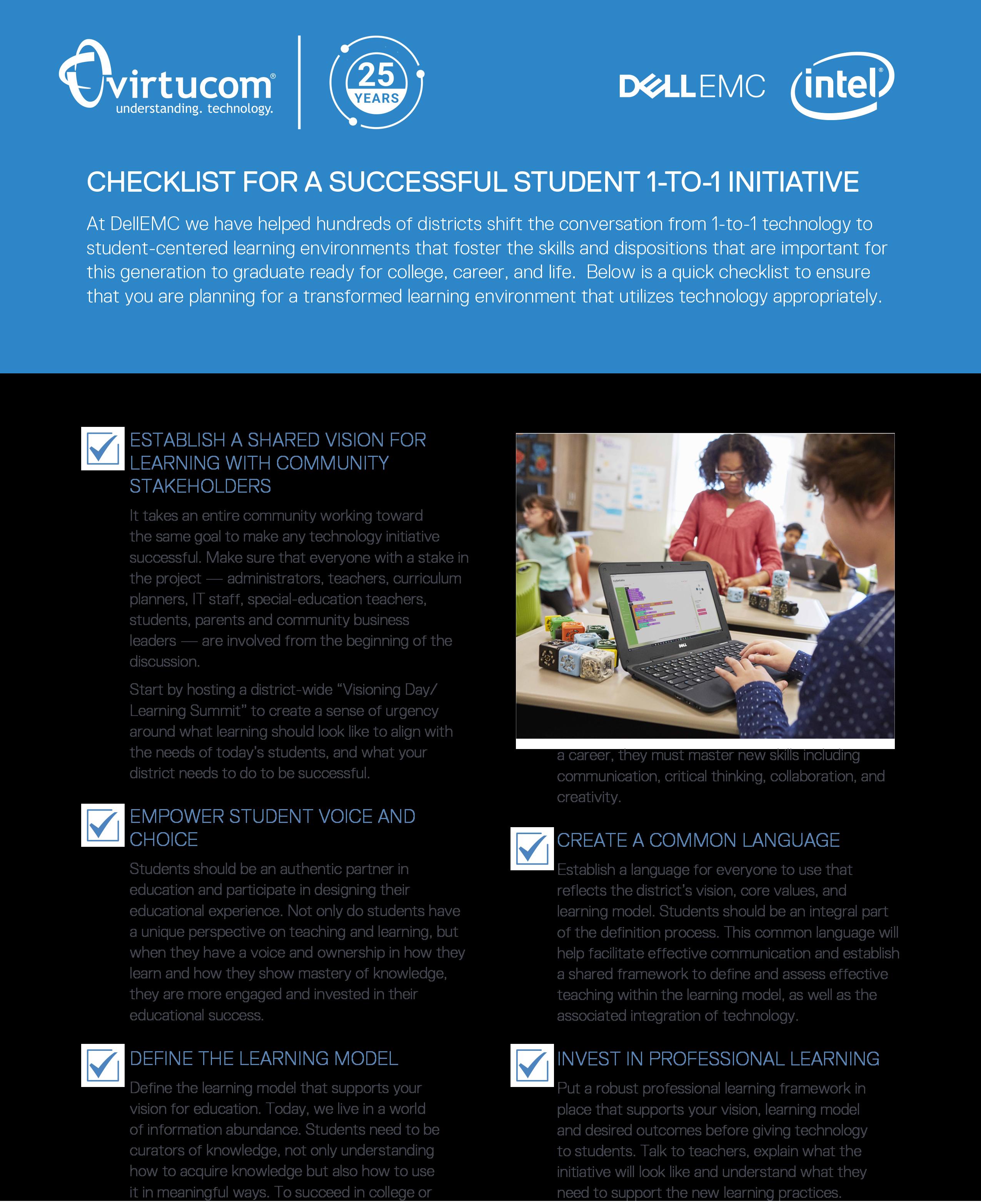 Dell's 1-1 Checklist