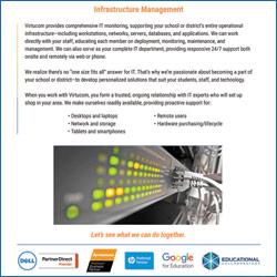 infrastructure management for k-12 schools