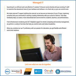 managed IT services for k-12 schools and districts