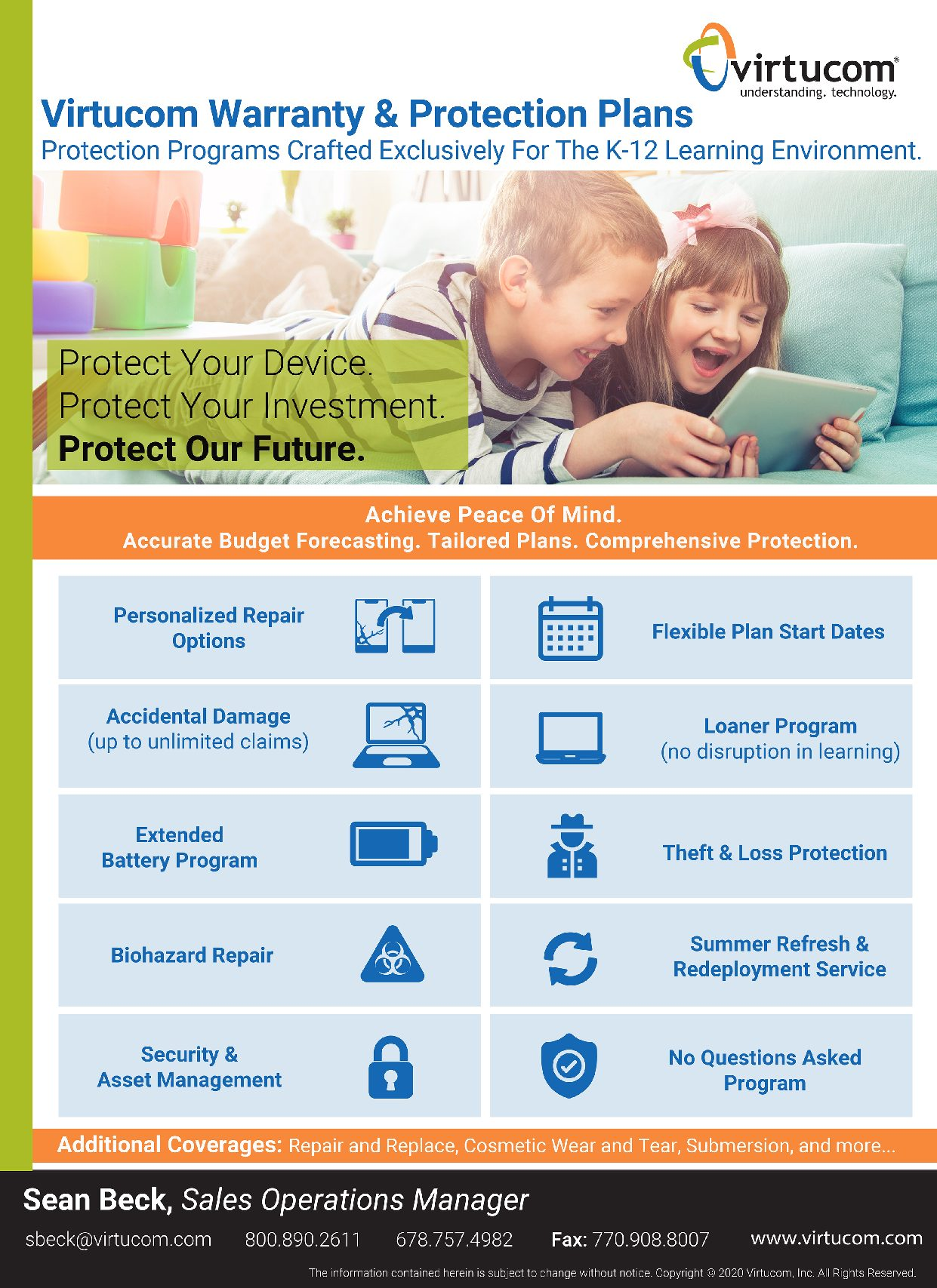 Virtucom Warranty and Protection Product Offering